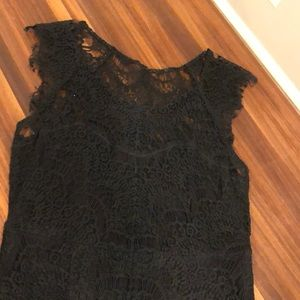 Intimately by Free People black lace dress (small)